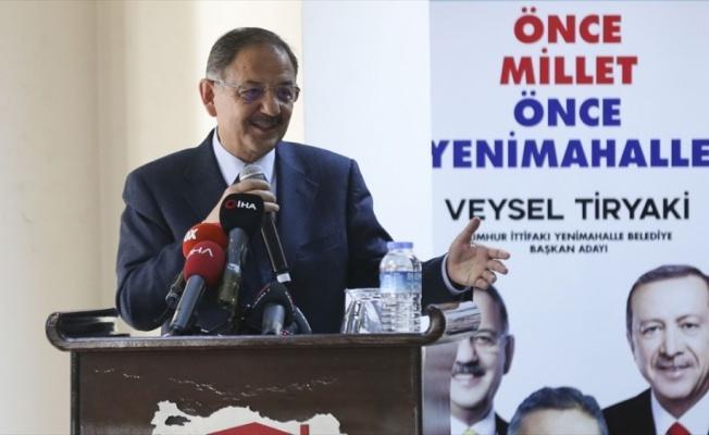 Mehmet Özhaseki: Ankara'da bundan sonra memba suyu içilecek