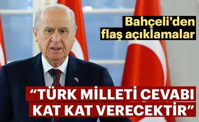 MHP Genel Başkanı Bahçeli: İdamla ilgili adım atılacaksa MHP bu konuda var