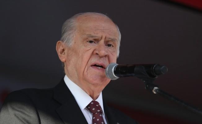 MHP Genel Başkanı Devlet Bahçeli: Türkiye bu zillet ve husumet emellerini sineye asla çekmez