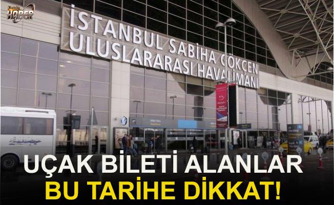 Sabiha Gökçen Havalimanı en yoğun günlerini yaşıyor.