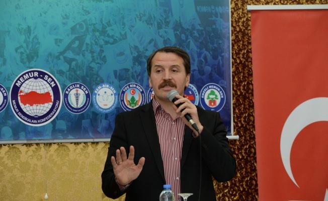 Ali Yalçın Yozgat'tan Kamu İşveren Heyeti'ne Seslendi