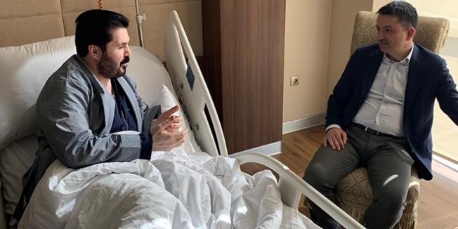 Bakan Pakdemirli'den Savcı Sayan'a ziyaret