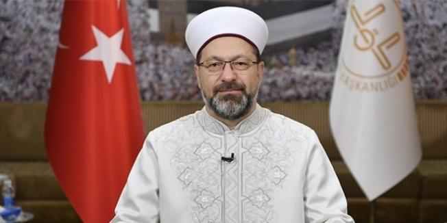 Diyanet İşleri Başkanı Ali Erbaş: Aile müessesesi bozulursa toplum bozulur