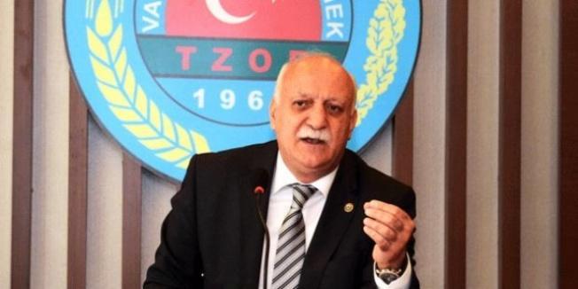 Şemsi Bayraktar tekrar TZOB Başkanı seçildi