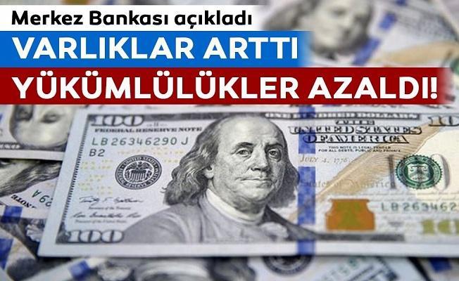 Türkiye'nin yurtdışı varlıkları arttı, yükümlülükleri azaldı!