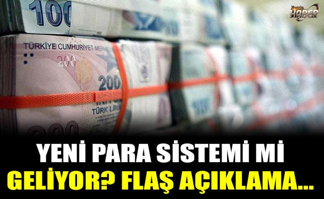Yeni para sistemi mi geliyor?