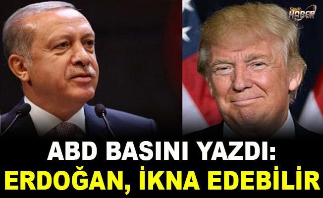 ABD basınından Erdoğan açıklaması: Trump'ı ikna edebilir