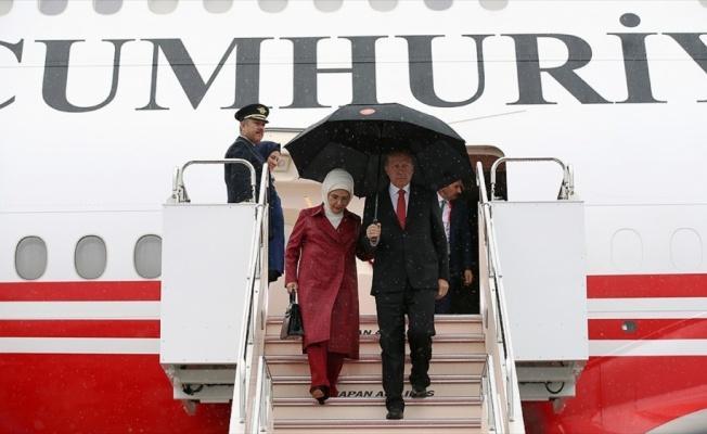 Cumhurbaşkanı Erdoğan G20 Liderler Zirvesi için Japonya'da