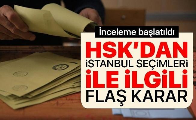 HSK, İstanbul'daki seçim hakimleri hakkında inceleme başlattı
