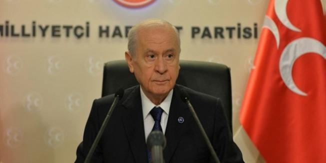 MHP Genel Başkanı Devlet Bahçeli İstanbul'da