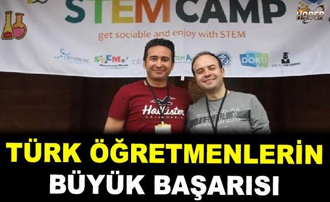 Türk Öğretmenlerin Büyük Başarısı!