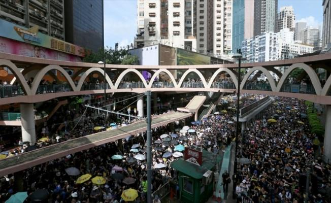 Çin'den Hong Kong yerel hükümetine destek açıklaması