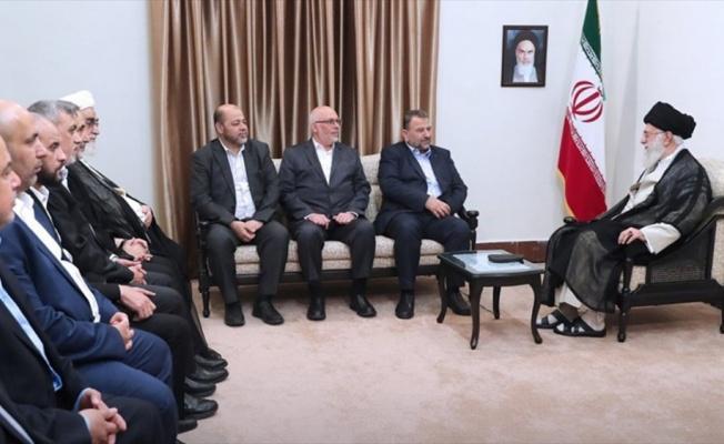 Hamas heyeti İran lideri Hamaney ile görüştü