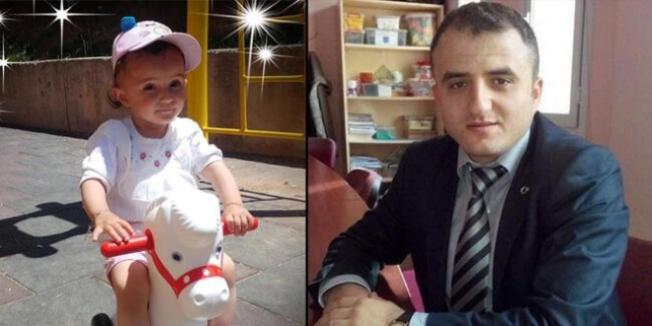 Kalp krizinden ölen öğretmenin kızı da kazada öldü