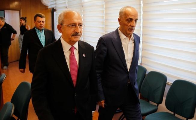 Kılıçdaroğlu Türk-İş'i ziyaret etti