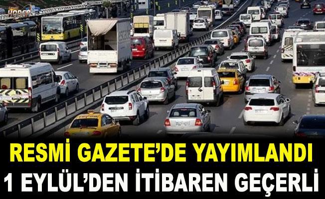 Trafik sigortasında değişiklik Resmi Gazete'de yayımlandı