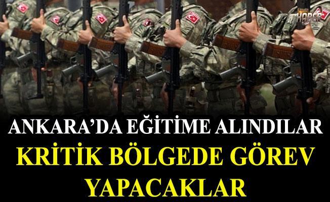 100 civarında asker seçildi. Ankara'da eğitime alındılar