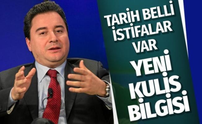 Ali Babacan'ın partisiyle ilgili bomba kulis! AK Parti'den istifa edenler var