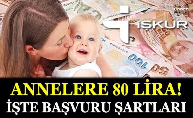 Annelere günlük 80 lira cep harçlığı!