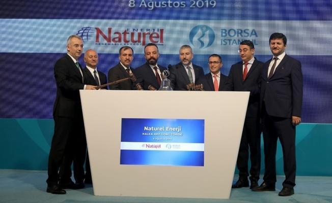 Borsa İstanbul'da gong Naturel Enerji için çaldı
