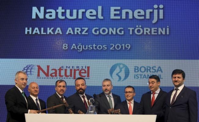 Borsa İstanbul'da gong, Naturel Enerji için çaldı