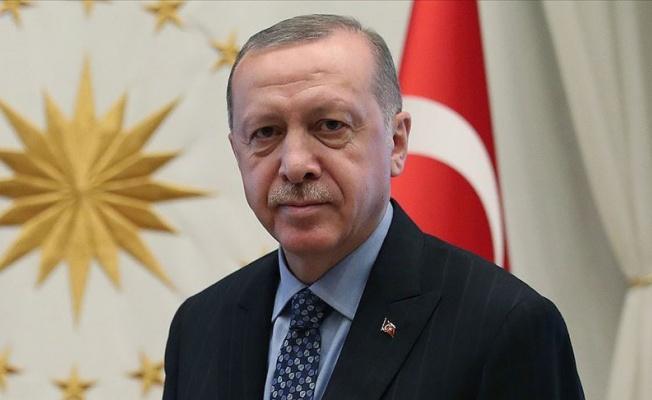 Erdoğan: 30 Ağustos'ta elde edilen destansı zaferle Cumhuriyetimizin temelleri atılmıştır