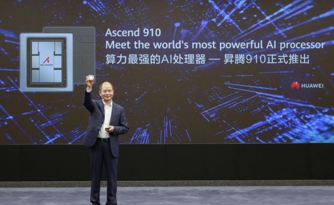 Huawei'den yeni nesil yapay zeka destekli işlemci