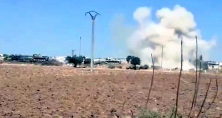 İdlib'de gözlem noktasına intikal sırasında hain saldırı! Milli Savunma Bakanlığı'ndan ilk açıklama