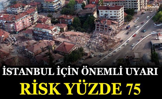 Korkutan uyarı: Deprem riski yüzde 75