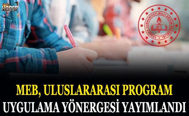 MEB Uluslararası Program Uygulama Yönergesi yayımlandı
