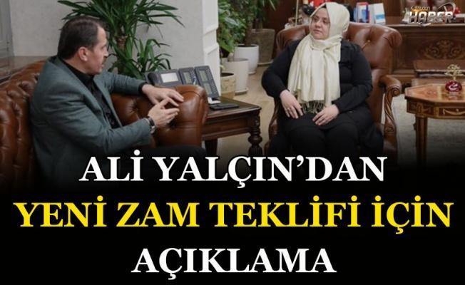 Memur-Sen Genel Başkanı Ali Yalçın'dan yeni zam teklifi için açıklama