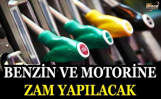 Benzin ve motorine zam yapılması bekleniyor