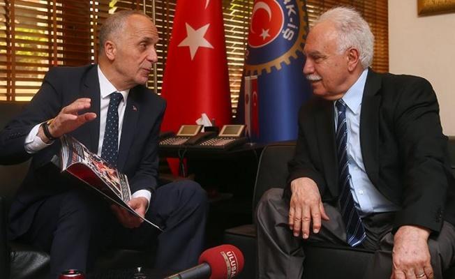 Perinçek, Türk-İş başkanına sahip çıktı