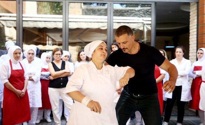 Seyidoğlu Gıda, kadın çalışanlarına şiddete karşı savunma eğitimi veriyor