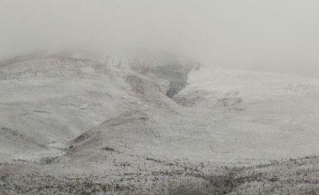 Ardahan'a da mevsimin ilk karı yağdı