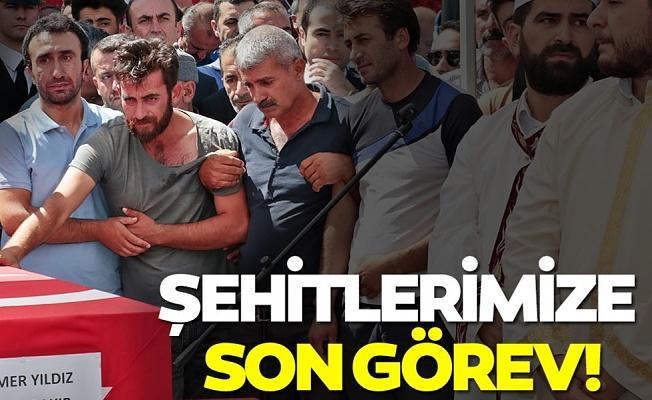 Diyarbakır'daki terör saldırısının sivil şehitleri son yolculuklarına uğurlanıyor