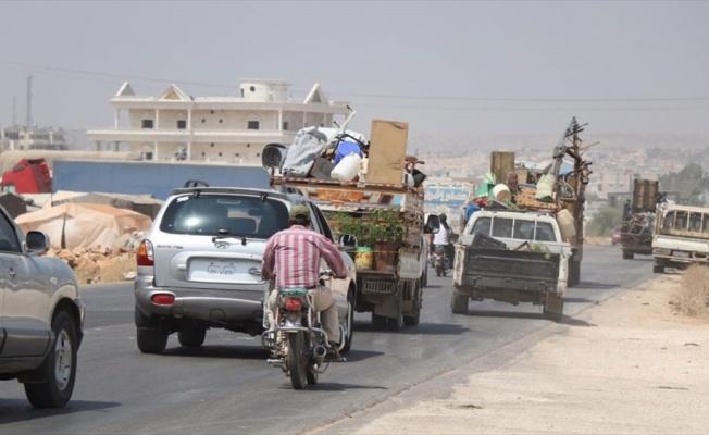 İdlib'de 1 yılda 1 milyon kişi göç etti