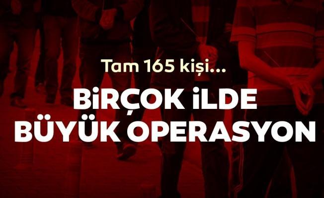 Kaymakamlık sınavı FETÖ operasyonu: 165 gözaltı kararı