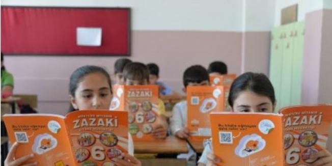 Seçmeli ders Zazaca'nın ders kitabı çıktı