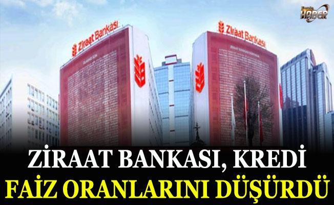 Ziraat Bankası kredi faiz oranlarını yeniden düşürdü