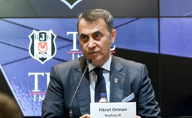Beşiktaş Kulübü Başkanı Orman: Yeni seçilecek başkanın emrindeyim