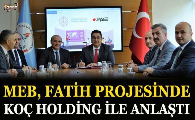Fatih Projesi için MEB'den yeni imza!
