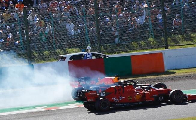 Ferrari pilotu Leclerc'e 15 saniye ceza