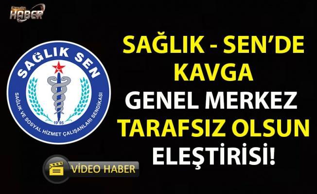 Sağlık-Sen Seçimlerinde Kavga! Sağlık Sen Konya'ya genel merkez müdahale etti.