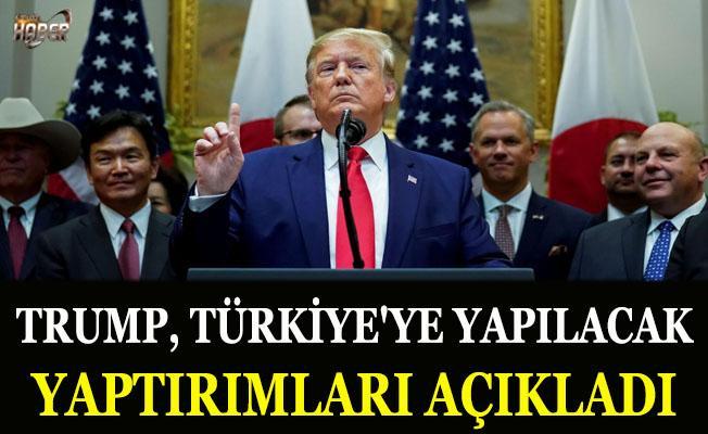 Trump, Türkiye'ye yapılacak yaptırımları duyurdu