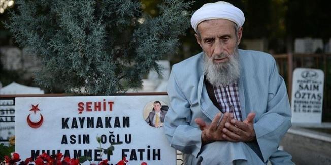 Asım Safitürk: Ateş, şehit yakınlarının kalbine düşüyor