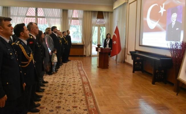 Atatürk, yurt dışındaki büyükelçiliklerde anıldı