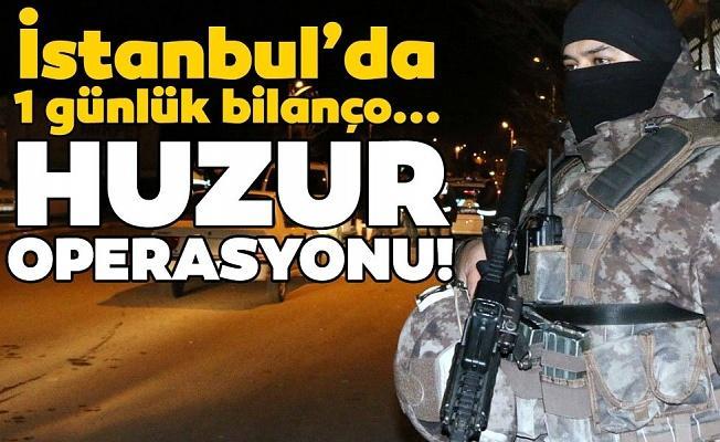 İstanbul'da 'Yeditepe Huzur' uygulamasında 25 bin kişi sorgulandı 150 bin TL ceza kesildi