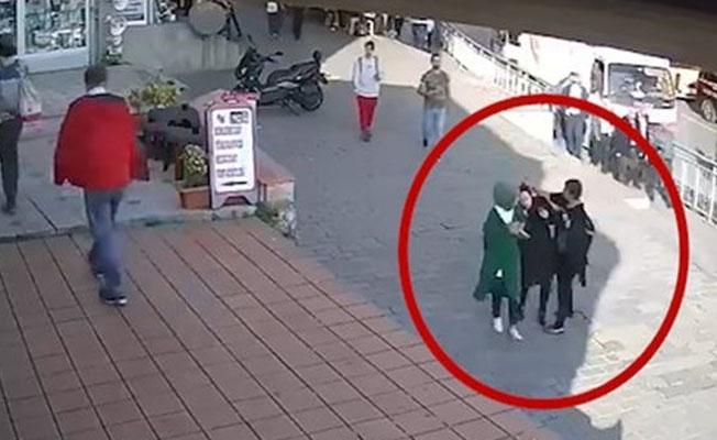 Karaköy'de genç kıza saldıran kadının ilk saldırısı değilmiş