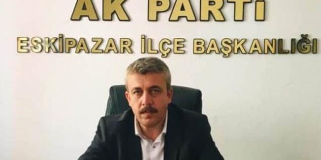 AK Parti İlçe Başkanı görevinden istifa etti